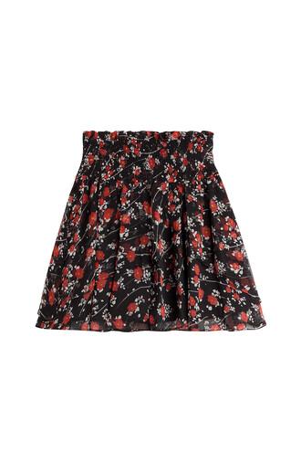 skirt chiffon skirt chiffon silk