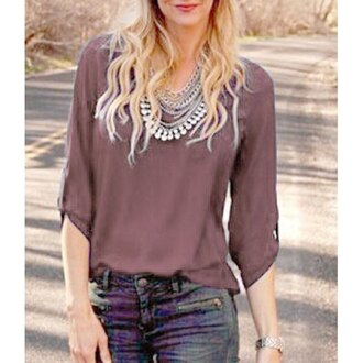 blouse top casual urban preppy style chiffon office outfits back to school streetwear streestyle