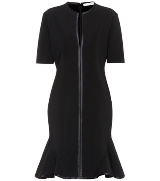 Givenchy dress jersey dress black