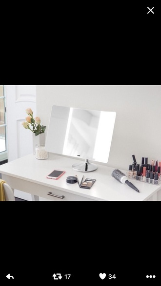 home accessory mirror make-up makeup table makeup mirror