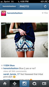 skirt blue skirt aztec aztec skirt dark blue