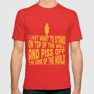 t-shirt house lannister game of thrones a song of ice and fire society6 game of thrones costume tyrion tyrion lannister lannister t shirt print graphic tee
