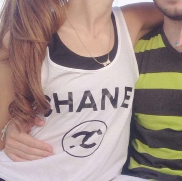 tank top chanel chanel top