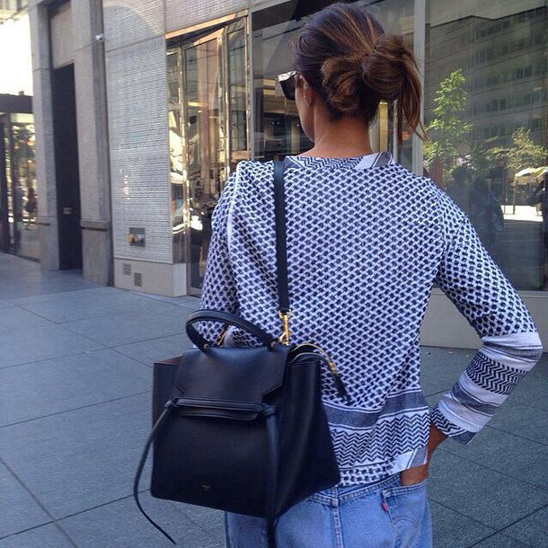 Bag: backpack, leather backpack, fall outfits, idk, chic, grunge ...