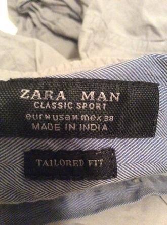 zaraman gray plain zara button down shirt