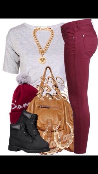 bag gold sequins