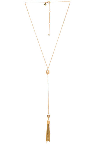 necklace metallic gold jewels