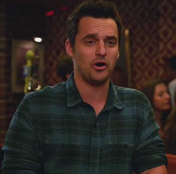 jake johnson new girl mens shirt