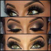 make-up,gorgeous,lookbook,chic,pretty,eye shadow,eyeliner,false eyelashes