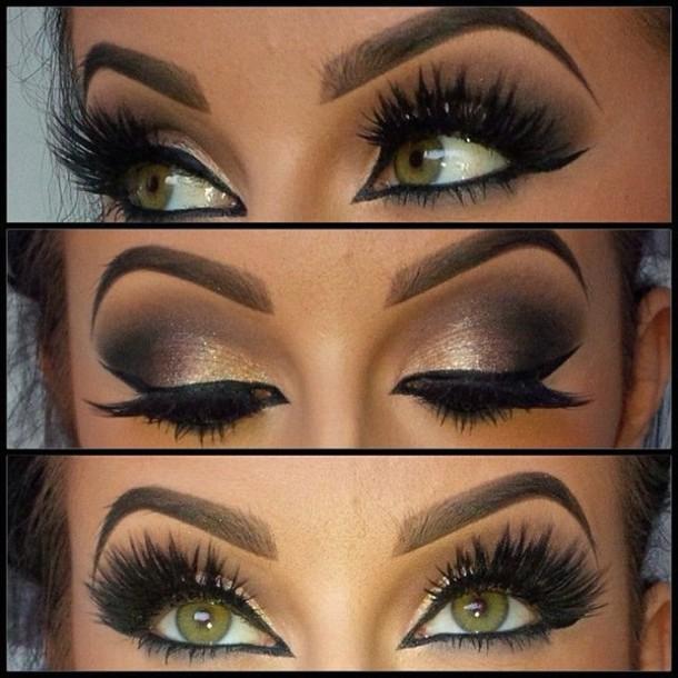 Make Up Gorgeous Lookbook Chic Pretty Eye Shadow Eyeliner
