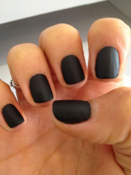 nail polish home accessory black matte nail polish so awesome