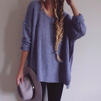 beige cute sweater blue sweater