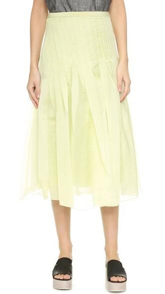 skirt pleated skirt pleated