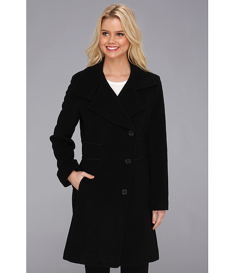 Marc New York by Andrew Marc Hera Coat Black - Zappos.com Free Shipping BOTH Ways