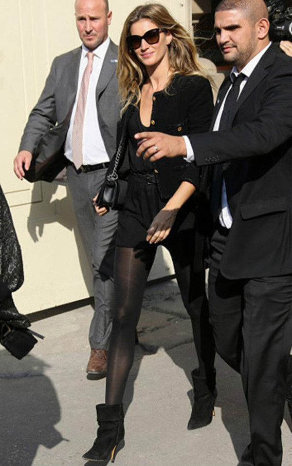 boots fashion week 2014 streetstyle gisele bündchen sunglasses