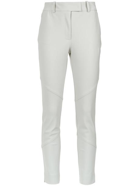 EGREY women spandex white pants