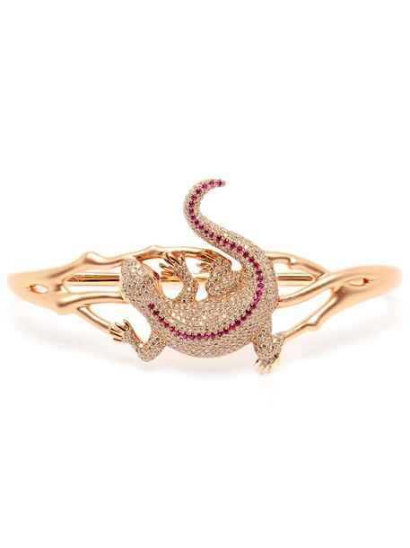 rose gold rose women gold purple pink jewels