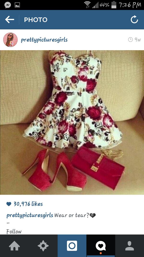 dress rose dress