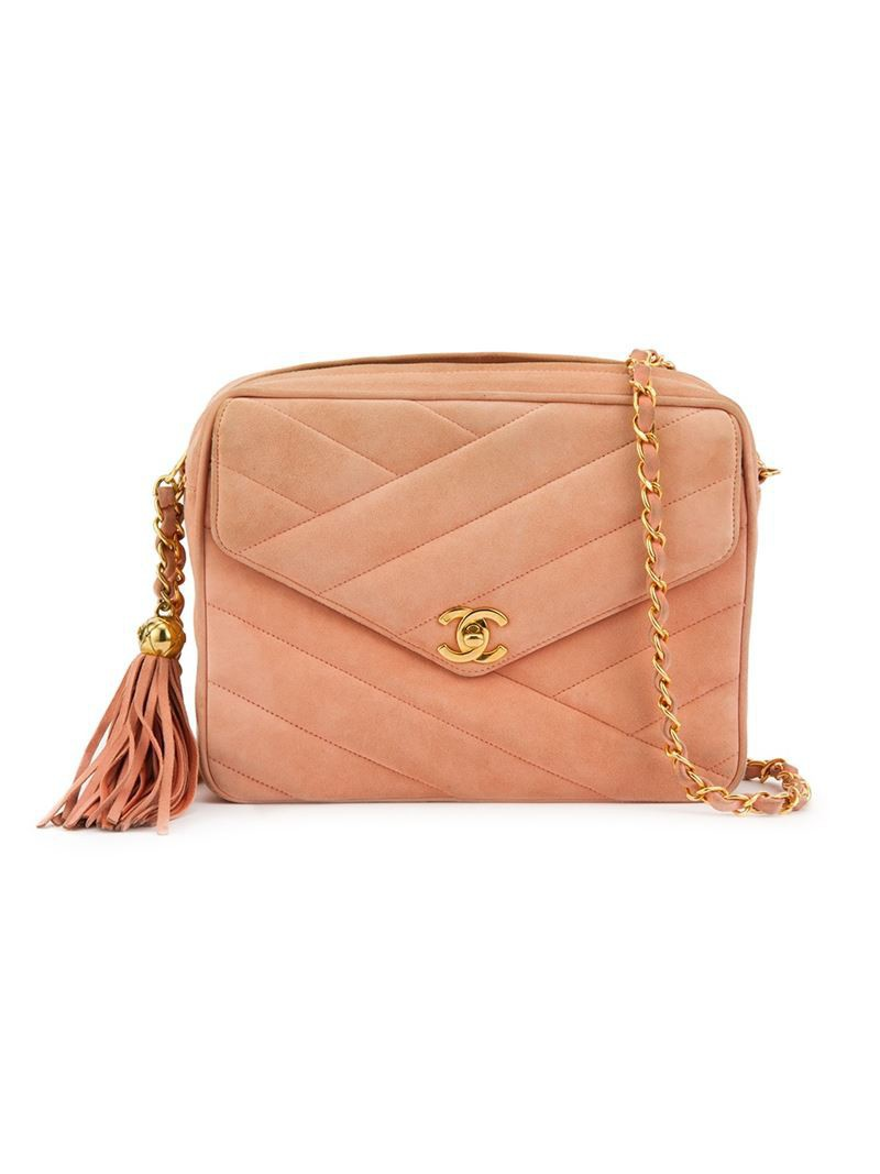 Замшевая серая сумка под Шанель Знаменитая сумка Шанель