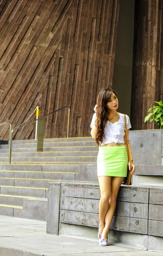 kryzuy shirt skirt bag shoes
