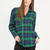 Plaid To The Bone Flannel Button-Up RED GREEN - GoJane.com