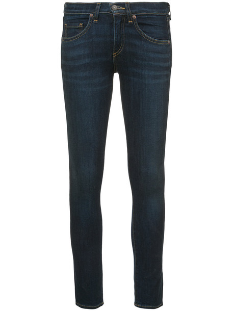 Veronica Beard jeans women cotton blue