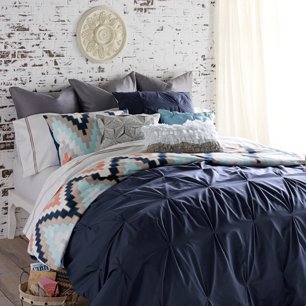 Blissliving Home Harper Navy Bedding By Blissliving Home