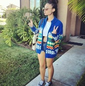 jacket,blue,sunglasses,india,westbrooks,tote bag,bag,shorts,cropped,top,chuck taylor all stars,converse,aztec,knitwear,india westbrooks