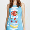 Moschino moschino swim logo tank dress