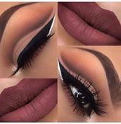 make-up,mxlisa.xo,beautiful,details on fleek,eye makeup,makeup palette,face makeup,cosmetic makeup bag,purple lipstick,eye shadow,purple,eyeliner,lipstick,lips,colorful,mac lipstick,red,dark lipstick