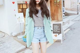 jacket korean fashion korean style tumblr tumblr outfit cardigan oversized cardigan