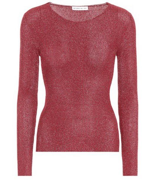 ETRO top knitted top metallic pink