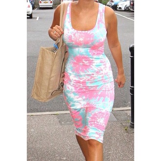 dress pastel dress floral dress