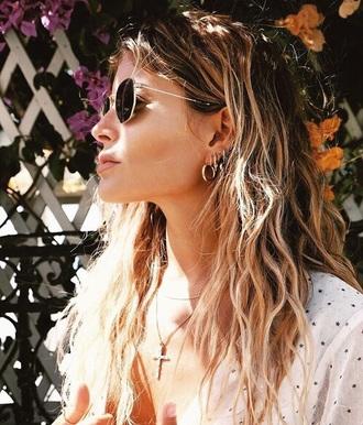 jewels earrings hoop earrings stud earrings cross earring ear piercings gold gold jewelry jewelry boho jewelry minimalist jewelry
