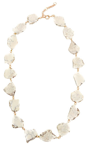 The Marble Rivulet Necklace - shipping around March 9th