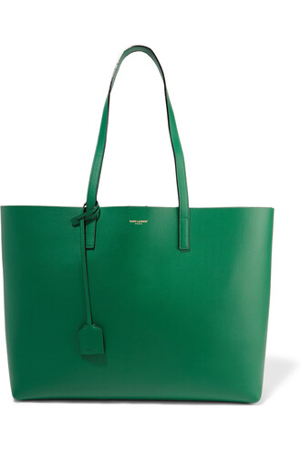 leather forest green forest green bag
