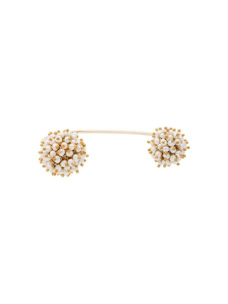 Rosantica women pearl grey metallic jewels