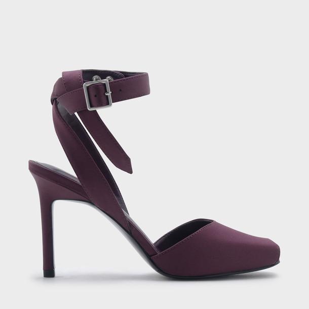 strap heels ankle strap ankle strap heels heels purple shoes