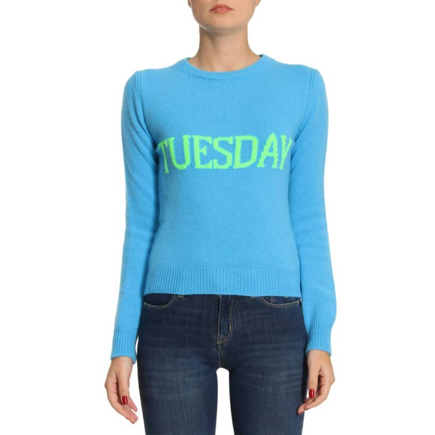 Alberta Ferretti sweater women blue