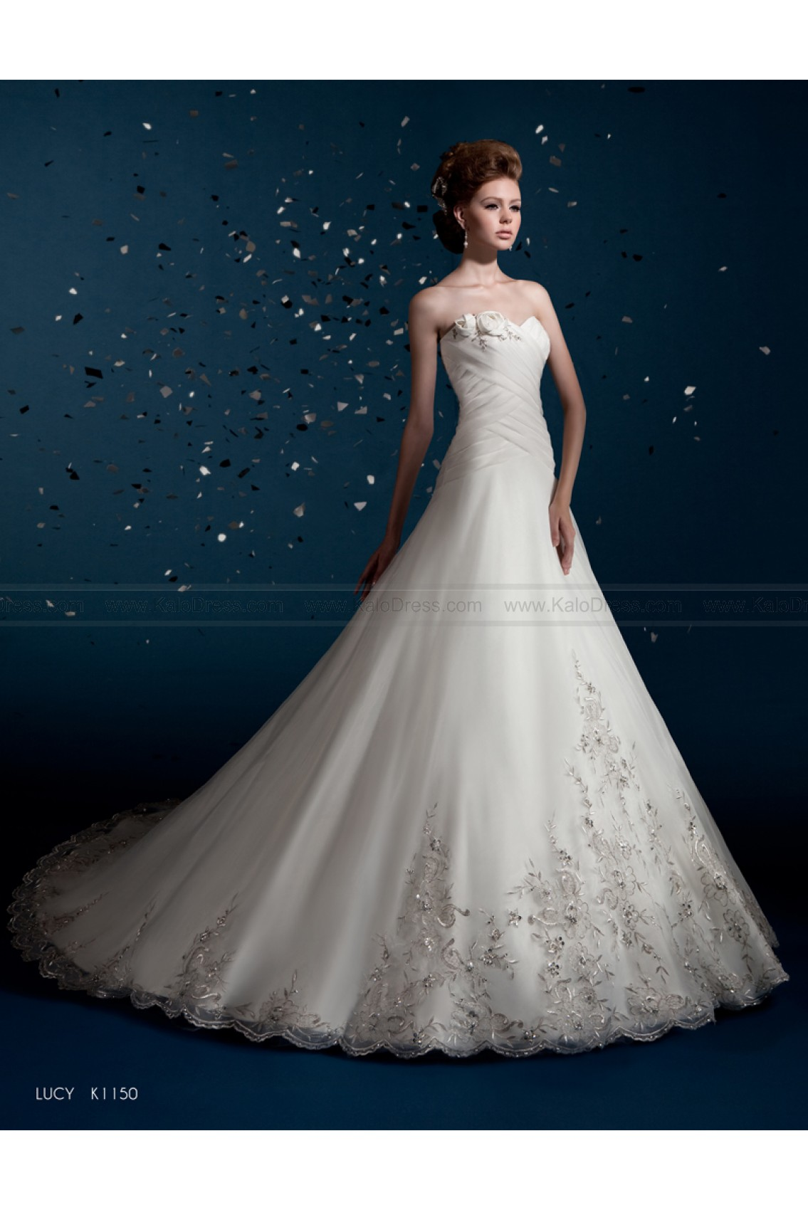 KITTYCHEN Couture - Style Lucy K1150 - Formal Wedding Dresses