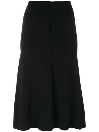 skirt pleated skirt pleated women midi black