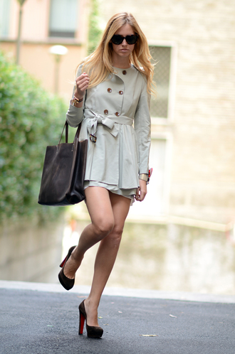 chiara the blonde salad brown jacket jacket