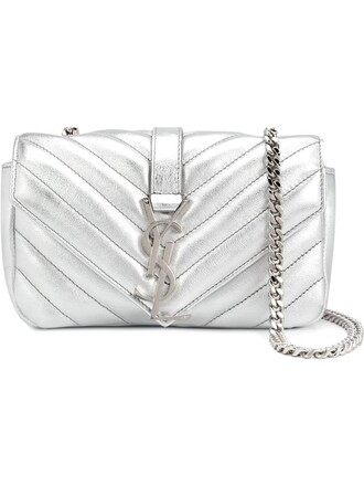 mini bag shoulder bag metallic