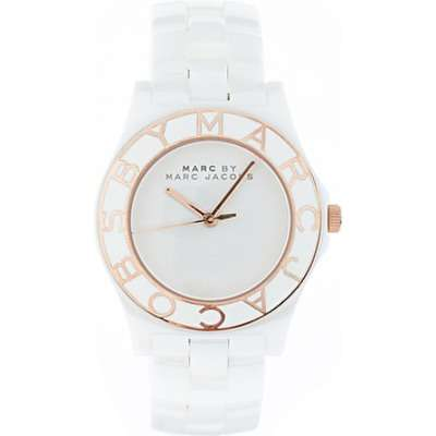 Marc by marc jacobs white bracelet watch