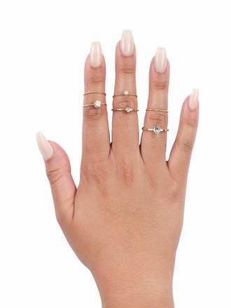 jewels jewelry ring knuckle ring ring set