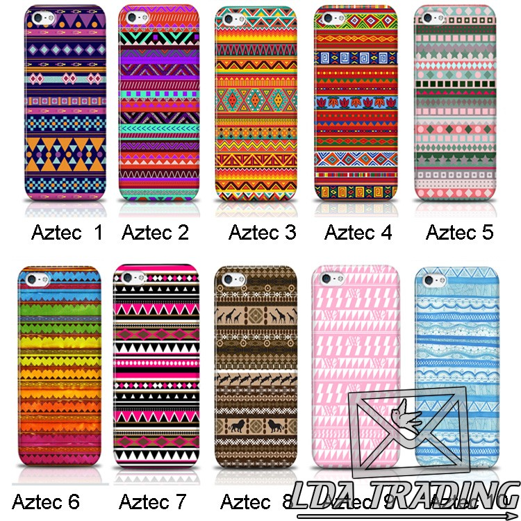 Iphone 4s exclusive aztec retro tribe tribal vintage pattern hard case cover
