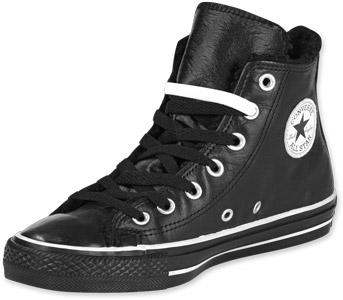 Converse All Star Lea Hi Rock Schuhe schwarz