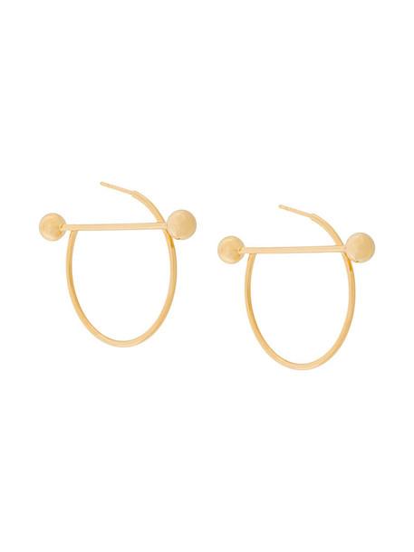 Maria Black women earrings gold silver grey metallic jewels