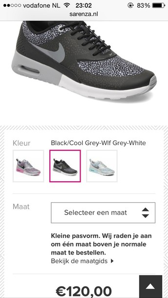 Nike Air Max Thea Print Grey
