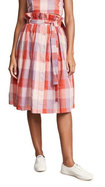 skirt checkered